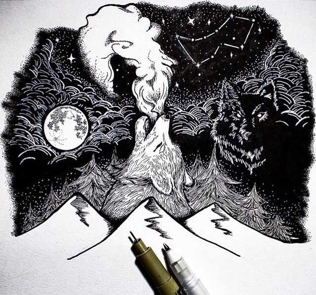 White Wolf Howl