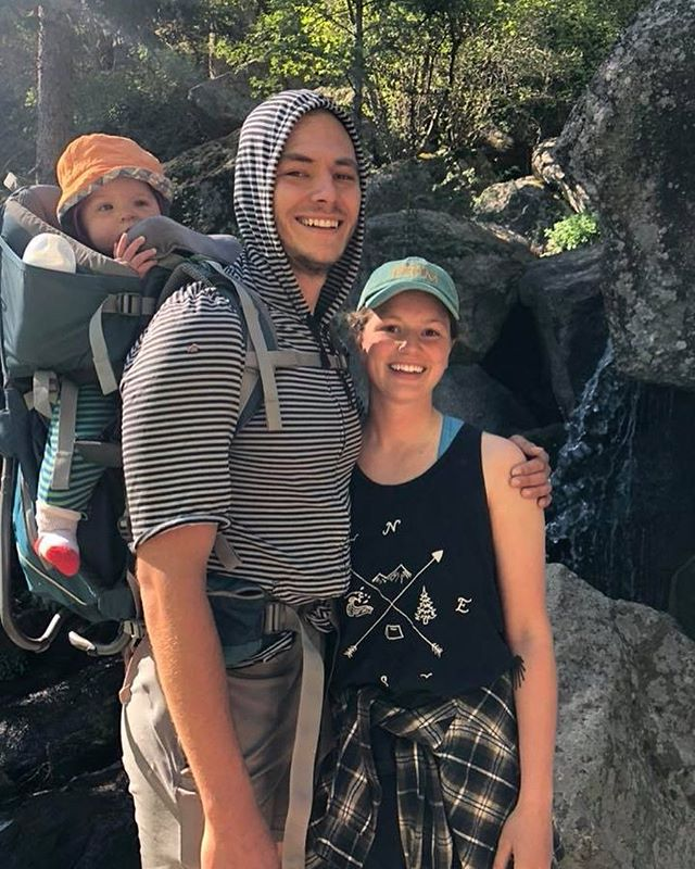 A family who Strays Together. 🌊🌲⛰ Don't forget to tag us while you're out there.  Outdoors Compass Tank online now. Link in our bio. #StrayTgthr  PC: @rconway13
