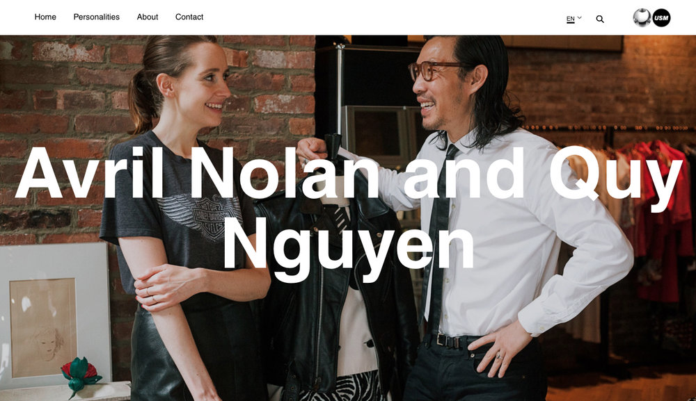 "USM Personalities   ""Though many might call themselves a curator nowadays, Avril Nolan and Quy Nguyen, the newly-married couple behind FORM Vintage, epitomize the word's true definition"""