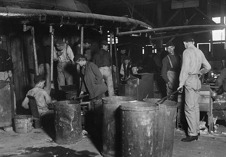Workers at Wheaton Glass Works, New Jersey