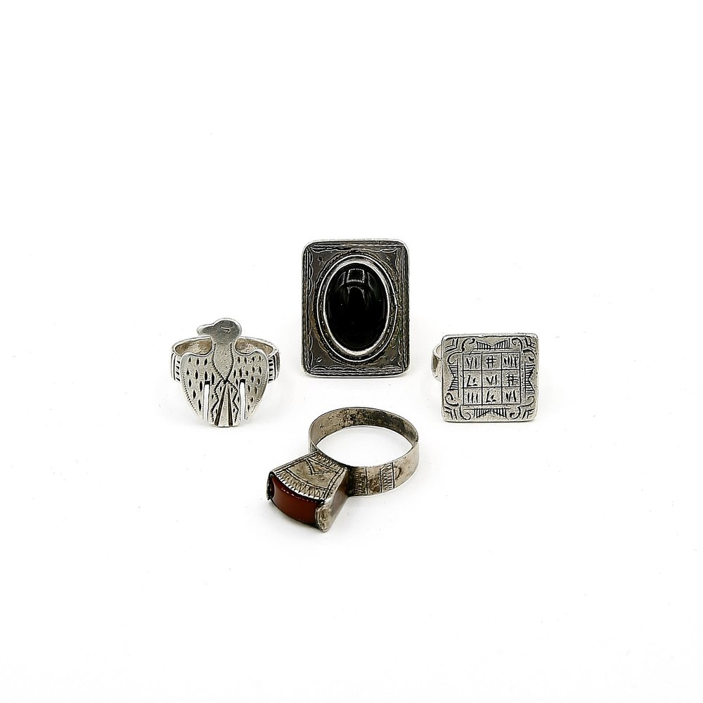 Silver Tuareg Rings