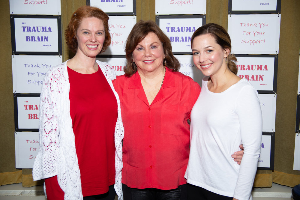 Shannon Lower, Marsha Mason and Jessica Grové The Jerry Orbach Theater, NYC, April 9, 2018