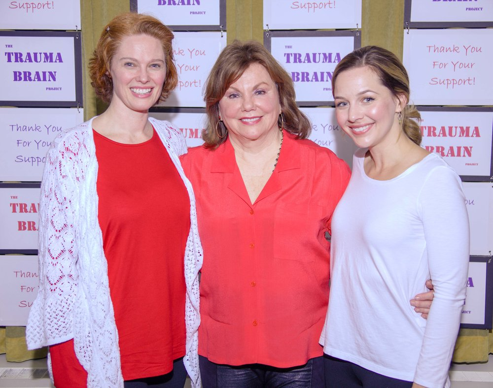 Shannon Lower, Marsha Mason and Jessica Grové, Jerry Orbach Theater, NYC (April 9, 2018)