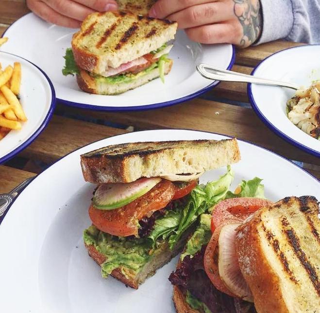 Veggie Sandwich @beaconechopark