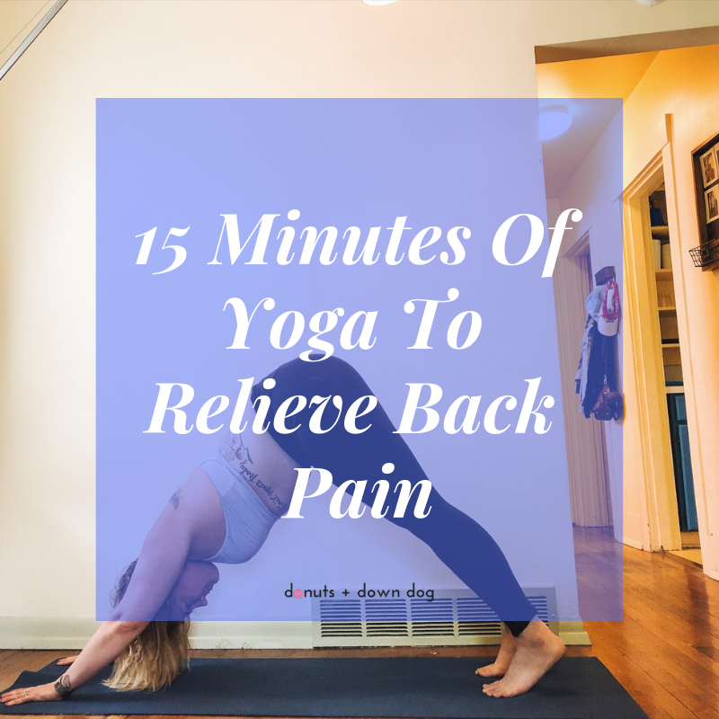 Is your back hurting? This 15 minute restorative class is designed to use deep stretching to release areas that commonly cause back pain.