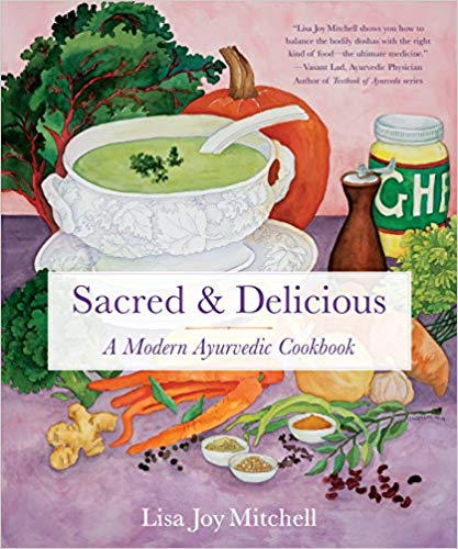 Lisa's new book,   Sacred & Delicious  !