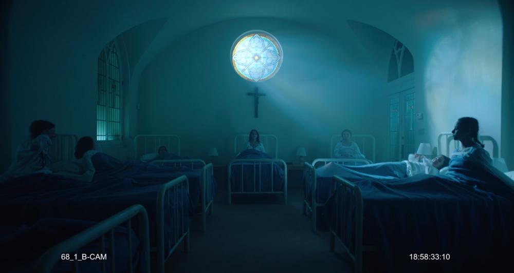 MASHIT- Directed by   Ryuhei Kitamura   Children attending a Catholic School become possessed by the demon named Mashit.