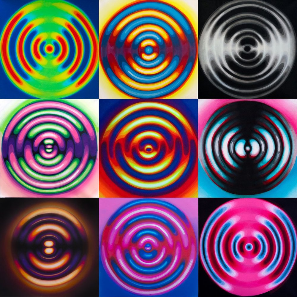 RIPPLE ( cymatics 1 - 9 )