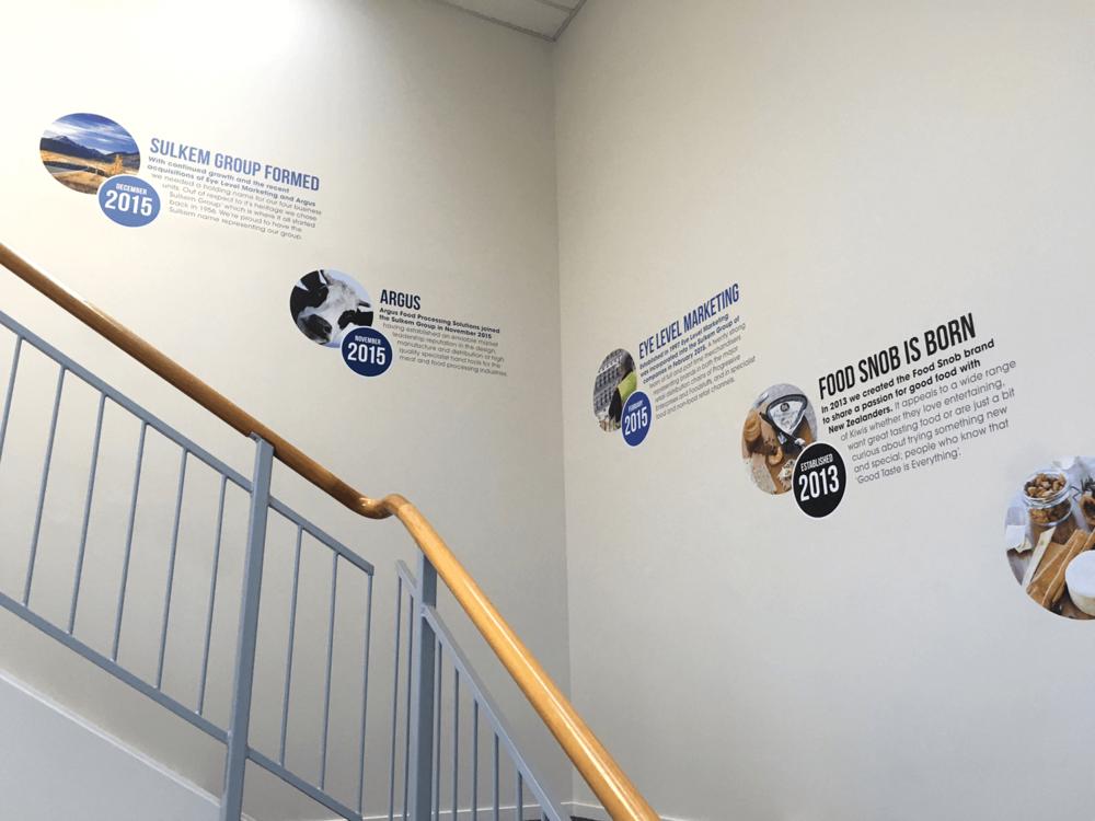 Entranceway signage Visuals | Art | Print | Installation