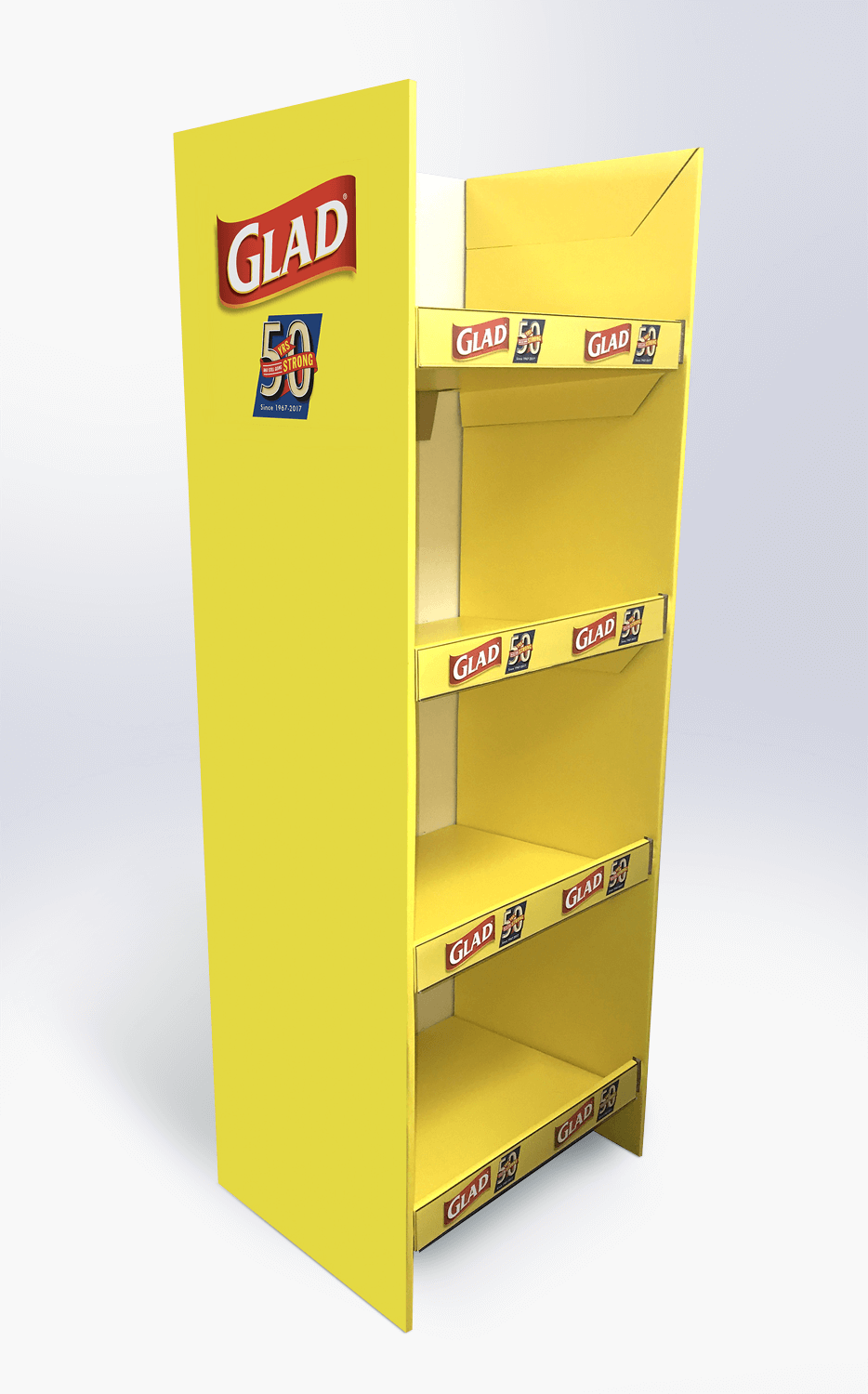 Cardboard grocery display    Display design and manufacture | Visuals | Art  | Print | Kit, pack and despatch