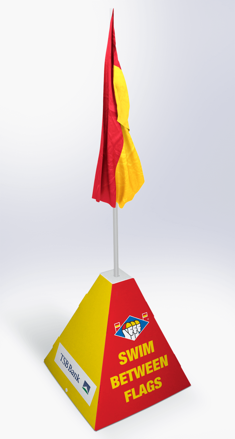 Promotional flag Display design and manufacture | Visuals | Art | Print | Pack and despatch