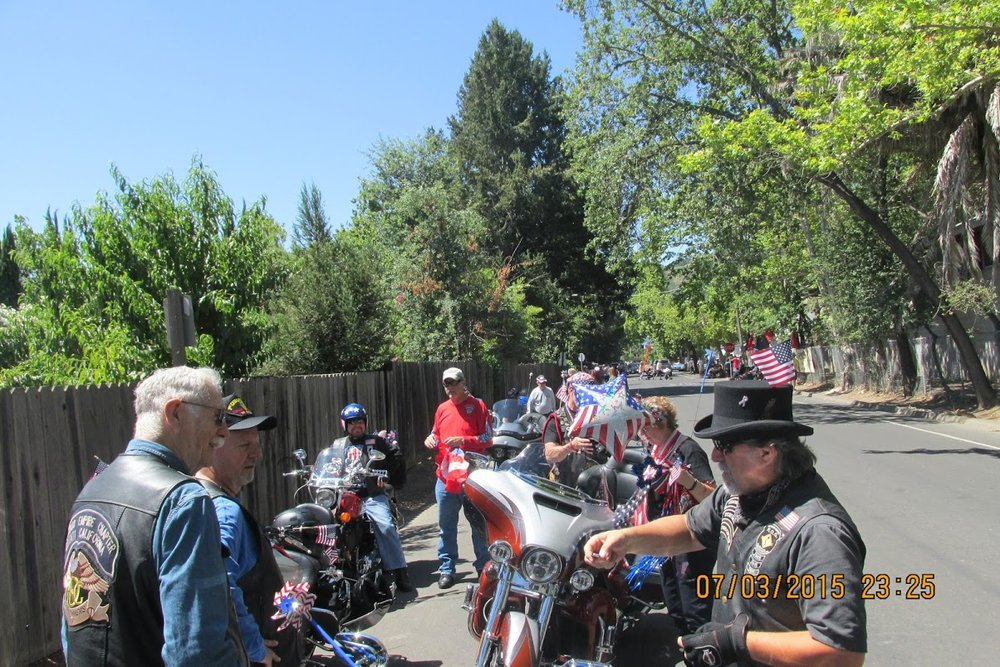 Calistoga Parade - July 4, 2015