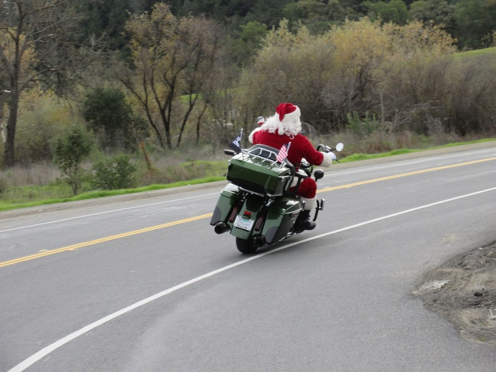 Cloverdale Toy Run -