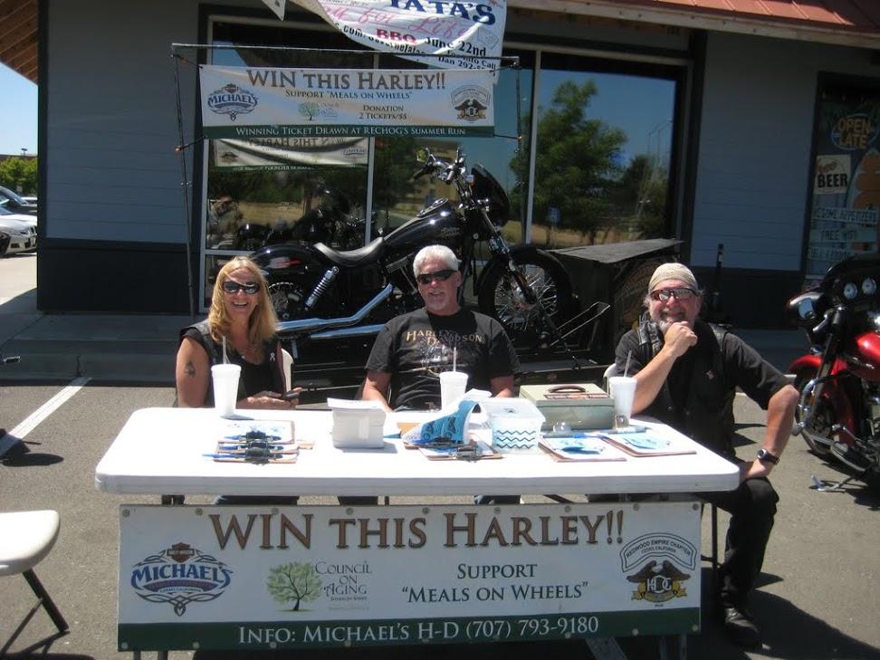 Raffle Bike at Hooters 2013 -