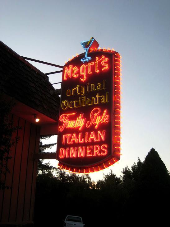 Negri's Dinner Ride 2012 -