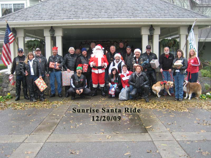 Sunrise Santa Ride -