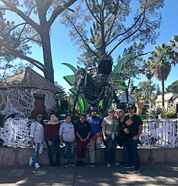 Six Flags Discovery Kingdom Ride -