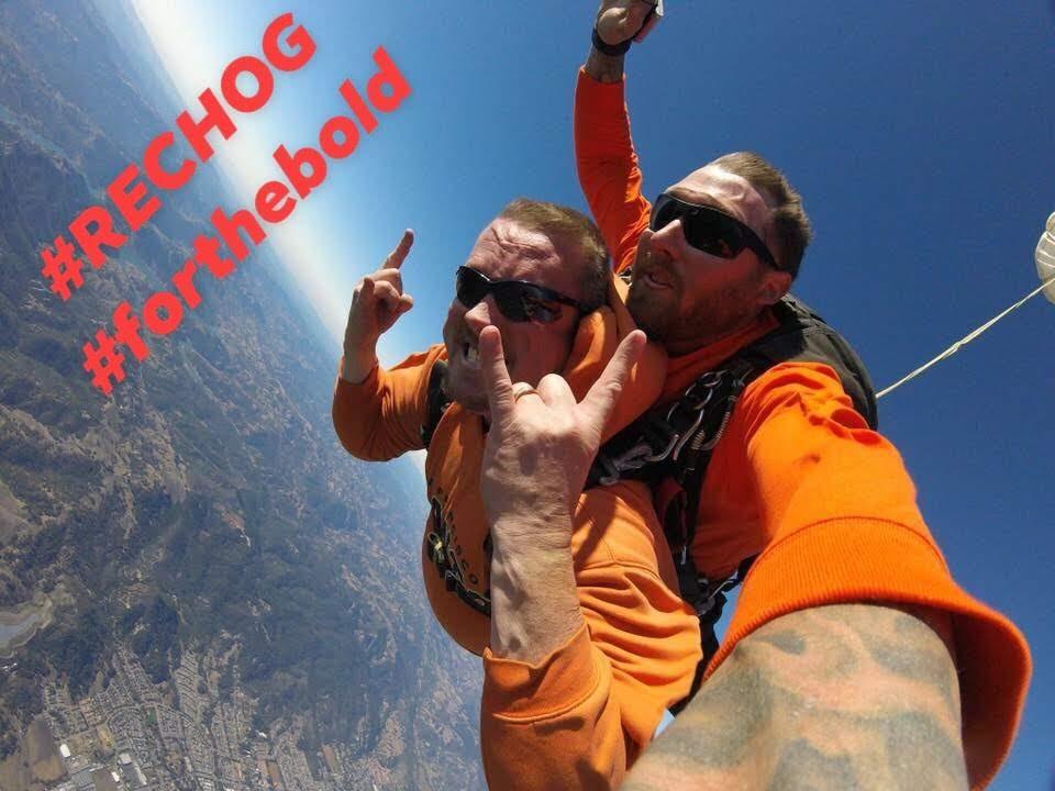 RECHOG Goes Skydiving -