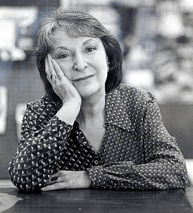 World renown film critic, Pauline Kael.