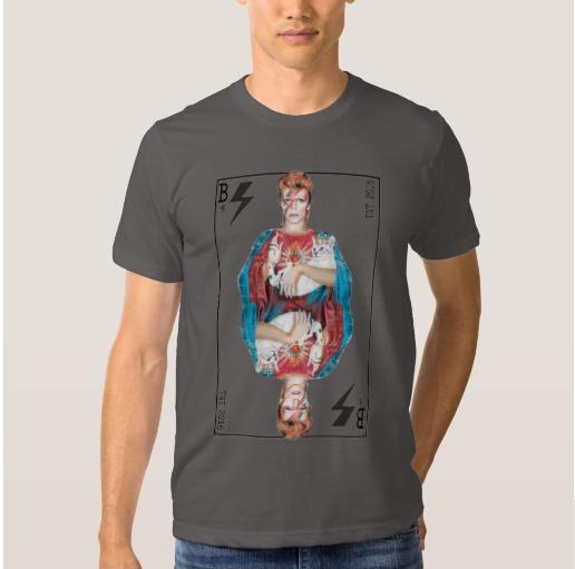 David Bowie Virgin Mary tshirt