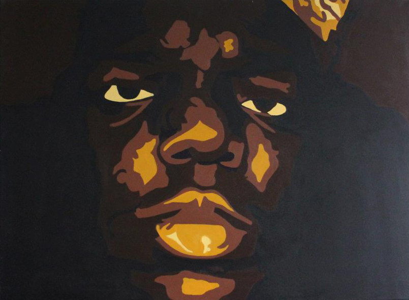 Series: Biggie Biggie Biggie - all of my paintings of the notorious big in one place
