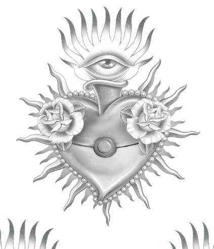 Pokéball Sacred Heart design