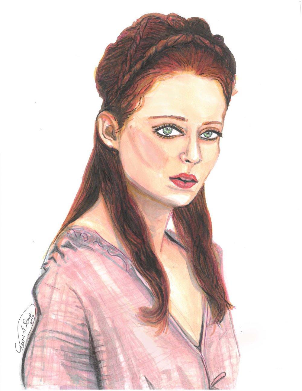 Sansa pink dress_drawing by tessa dines.jpg