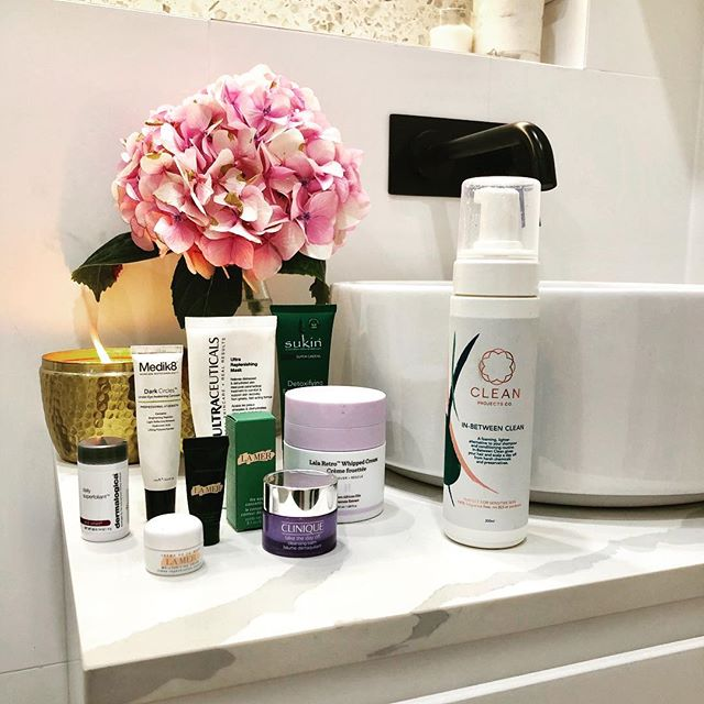Our favourite things to put on our skin...include what we put on our hair. We love all these beautiful items for their commitment to #nofragrance #cleanskincare and gorgeous ingredients.  #noallergens #nosls #noparabens #skincare #haircare #bondi #home