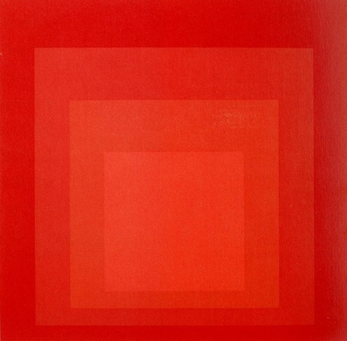 Josef Albers MBB red