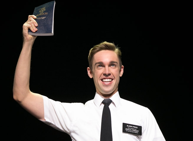 Nic Rouleau.  Photos: BookofMormonBroadway.com