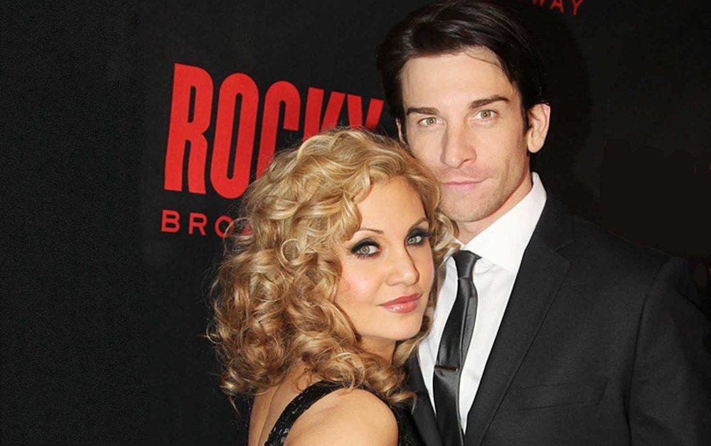 Orfeh & Andy Karl.  Photo: Bruce Gilkas