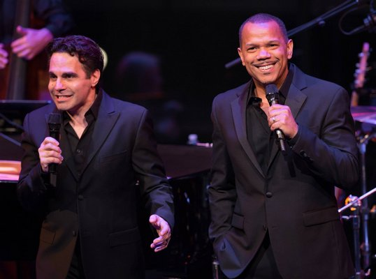 Mario Cantone & Jerry Dixon.  Photo: Kevin Yatarola