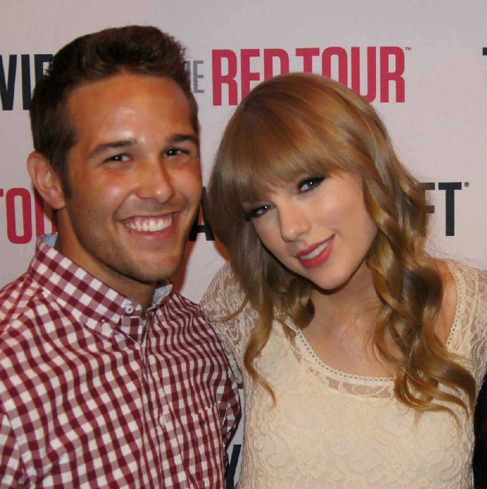 Taylor and her #1 Swiftie (Me!)