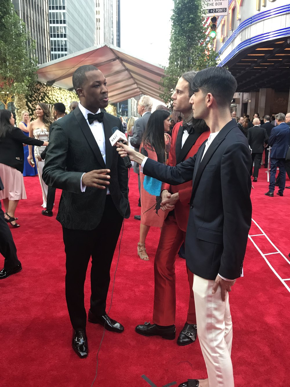 Tony nominee Corey Hawkins, currently starring in  Six Degrees of Separation