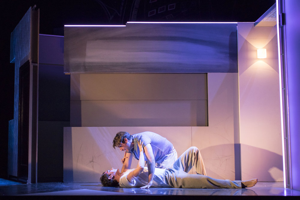 6. James McArdle (Louis) and Andrew Garfield (Prior) in Angels in America - Millennium Approches (c) Helen Maybanks.jpg