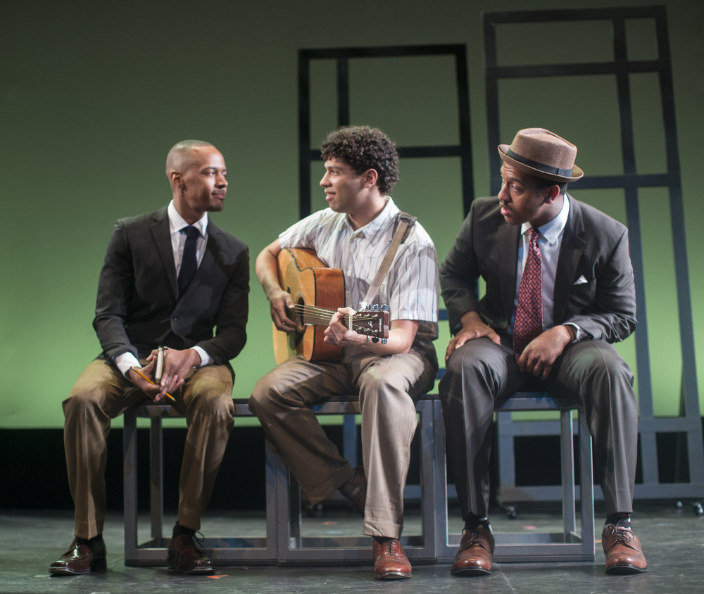 Anthony Chatmon II, Scott Redmond and Nygel Deville Robinson in FREEDOM RIDERS at NYMF 2017 - photo by Mia Winston.jpg