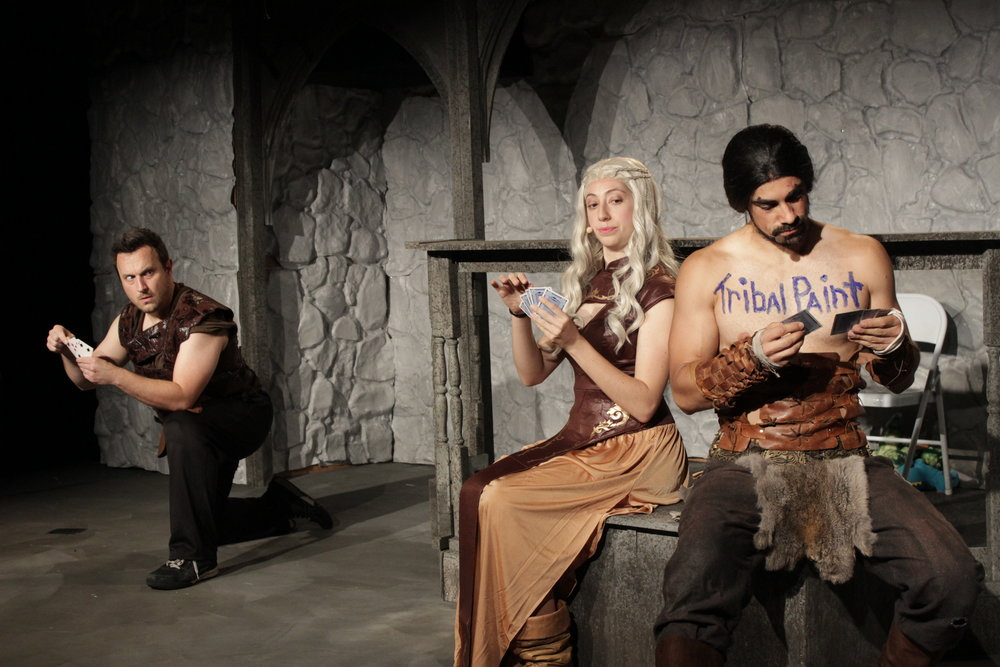 Ryan Pifher, Mandie Hittleman, Ace Marerro as Kahl Warriot, Daenerys, Khal Drogo.JPG