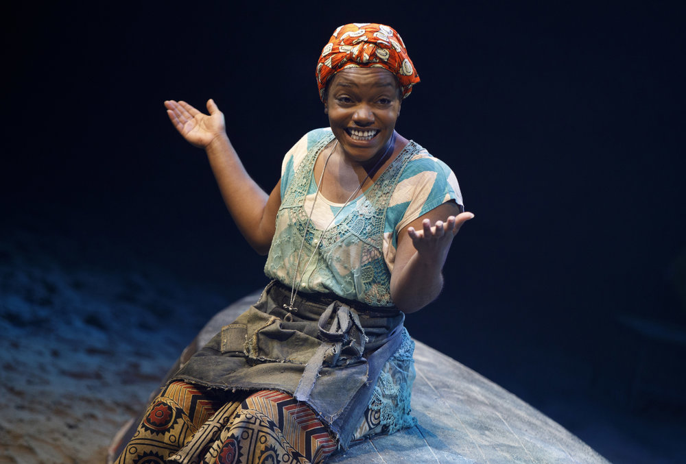 Kenita R. Miller in  Once On This Island . Photo: Joan Marcus.