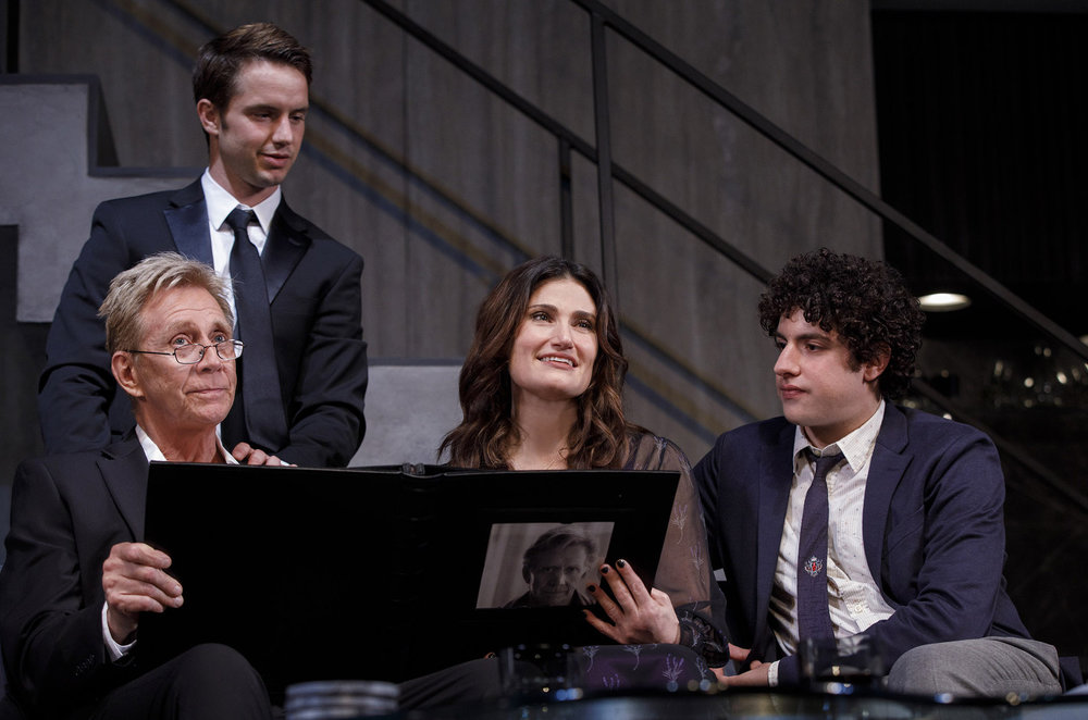0136r2_Jack Wetherall, Will Brittain, Idina Menzel and Eli Gelb in SKINTIGHT, photo by Joan Marcus 2018.jpg