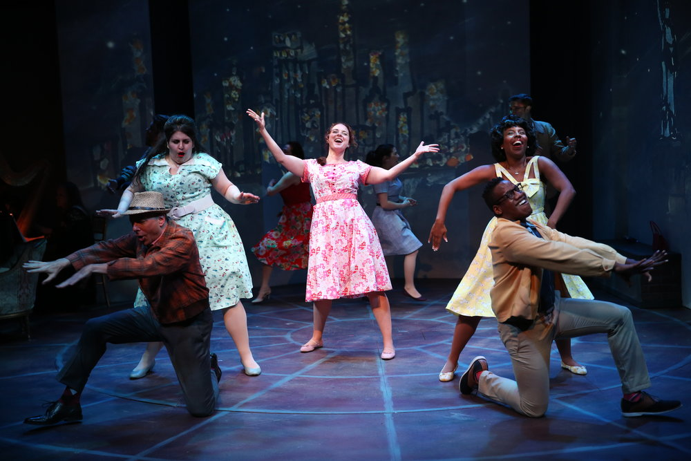 Melissa Errico and the cast of Irish Rep's ON A CLEAR DAY YOU CAN SEE FOREVER - Photo by Carol Rosegg (2).JPG