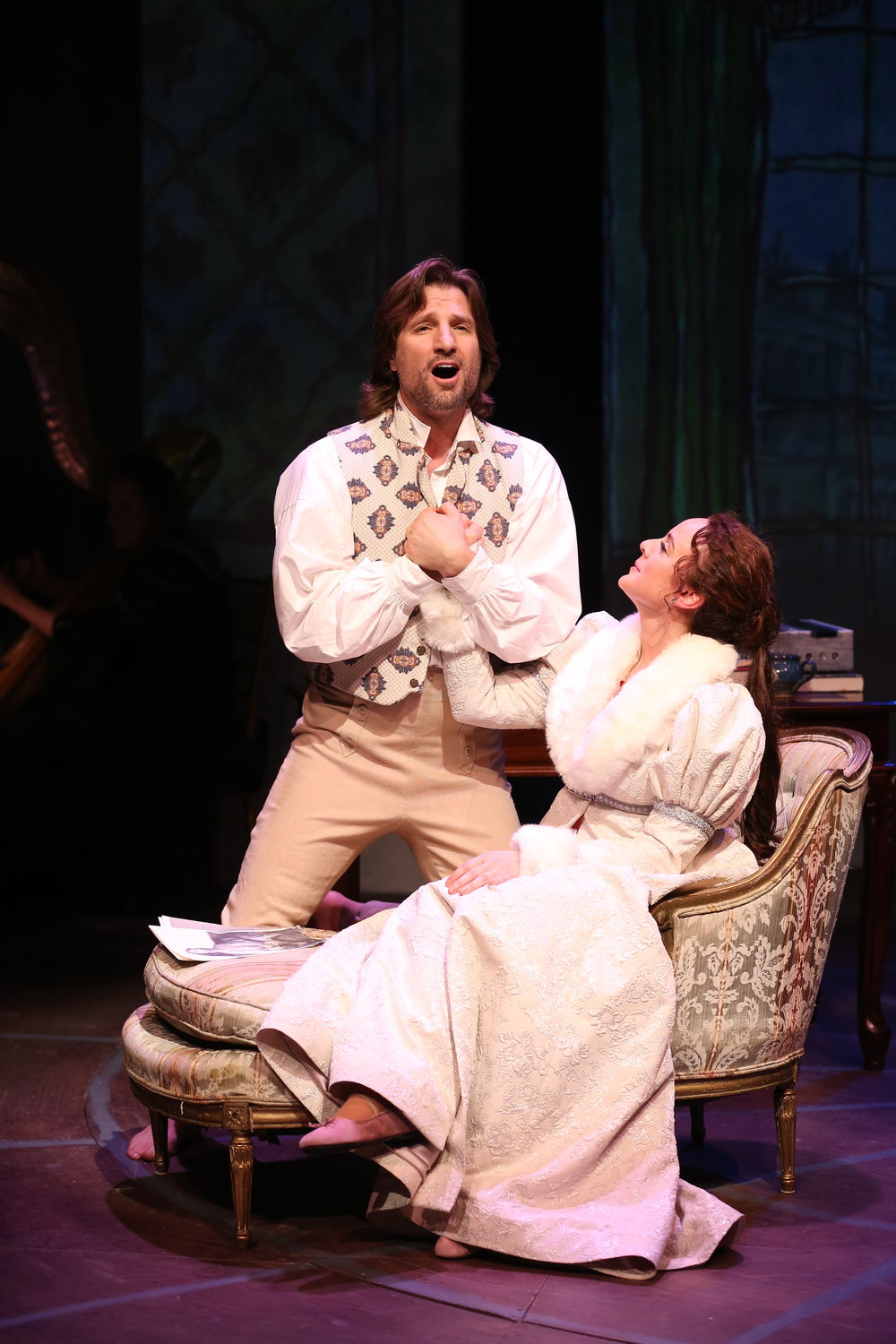 John Cudia and Melissa Errico in Irish Rep's ON A CLEAR DAY YOU CAN SEE FOREVER - Photo by Carol Rosegg (2).JPG