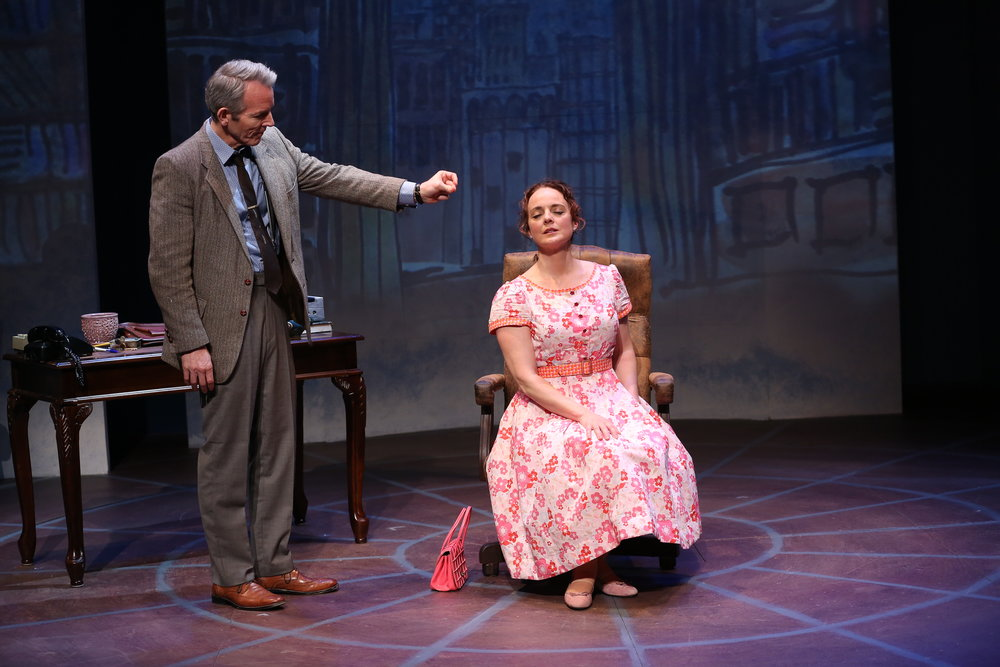 Stephen Bogardus and Melissa Errico in Irish Rep's ON A CLEAR DAY YOU CAN SEE FOREVER - Photo by Carol Rosegg.JPG
