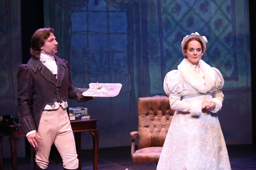John Cudia and Melissa Errico in Irish Rep's ON A CLEAR DAY YOU CAN SEE FOREVER - Photo by Carol Rosegg (1).JPG