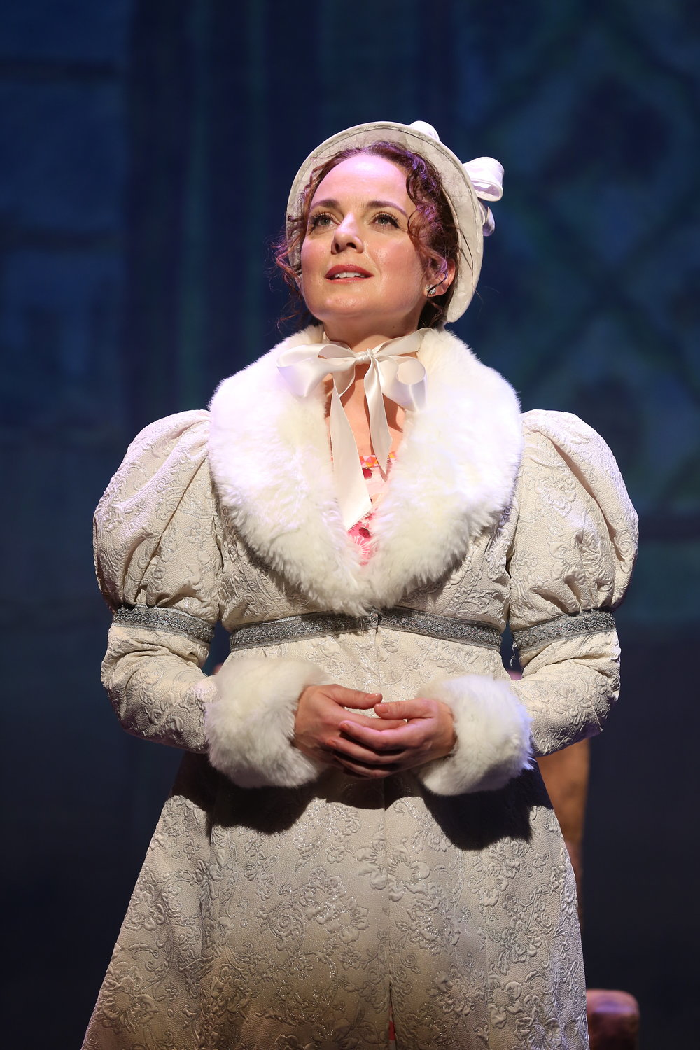 Melissa Errico in Irish Rep's ON A CLEAR DAY YOU CAN SEE FOREVER - Photo by Carol Rosegg.JPG