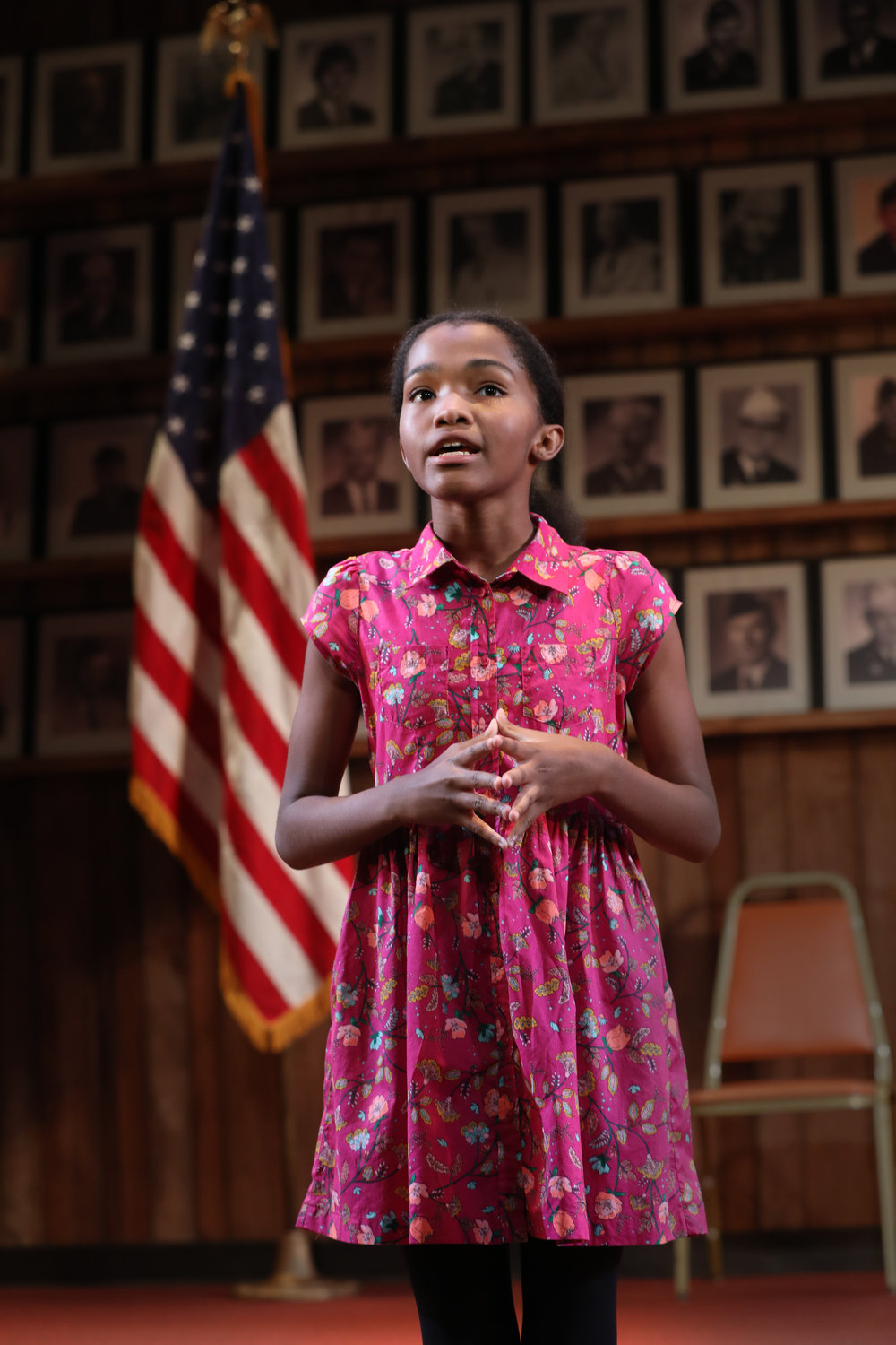 Rosdely Ciprian in WHAT THE CONSTITUTION MEANS TO ME at New York Theatre Workshop, Photo by Joan Marcus.jpg