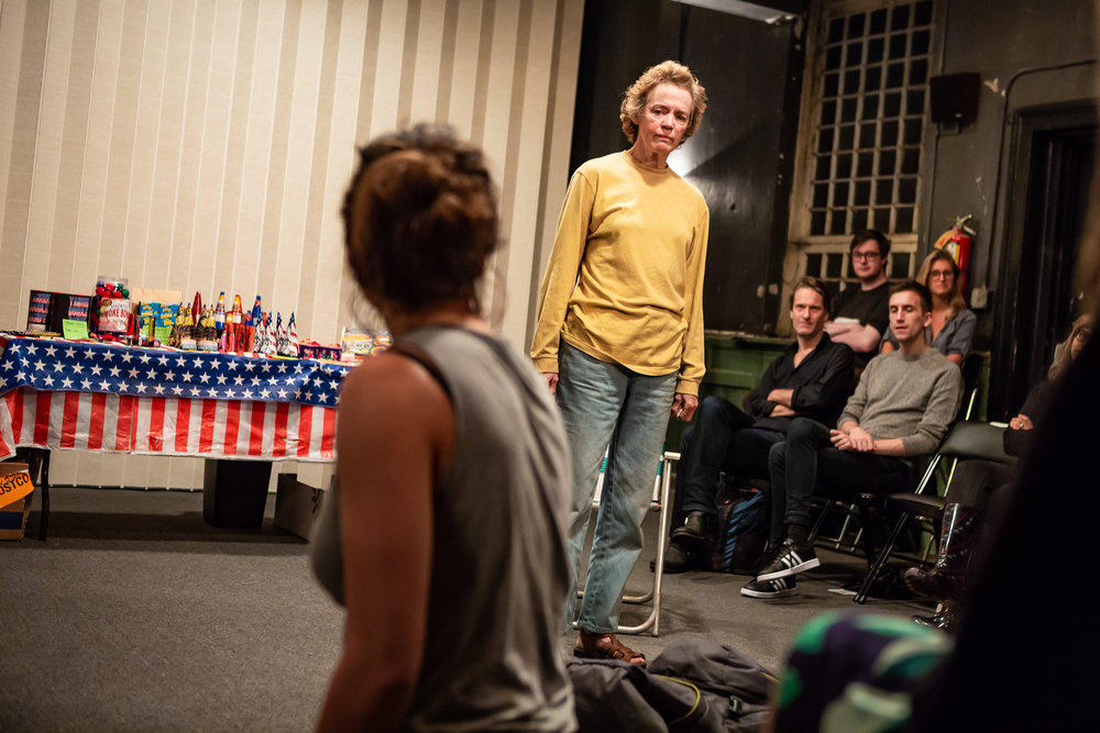 Leah Karpel and Kristin Griffith in LEWISTON, part of LEWISTON : CLARKSTON at Rattlestick Playwrights Theater - Photo by Jeremy Daniel (2).JPG