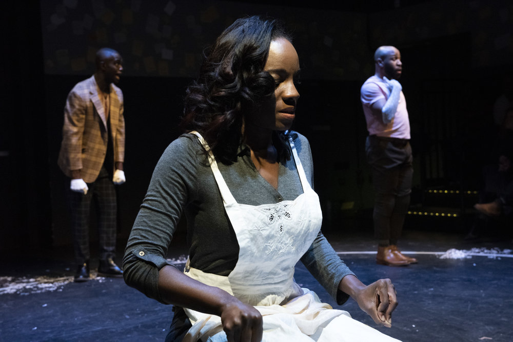 Beau Thom, Rachel Christopher and Ugo Chukwu in WHAT TO SEND UP WHEN IT GOES DOWN. Photo by Ahron R. Foster.jpg