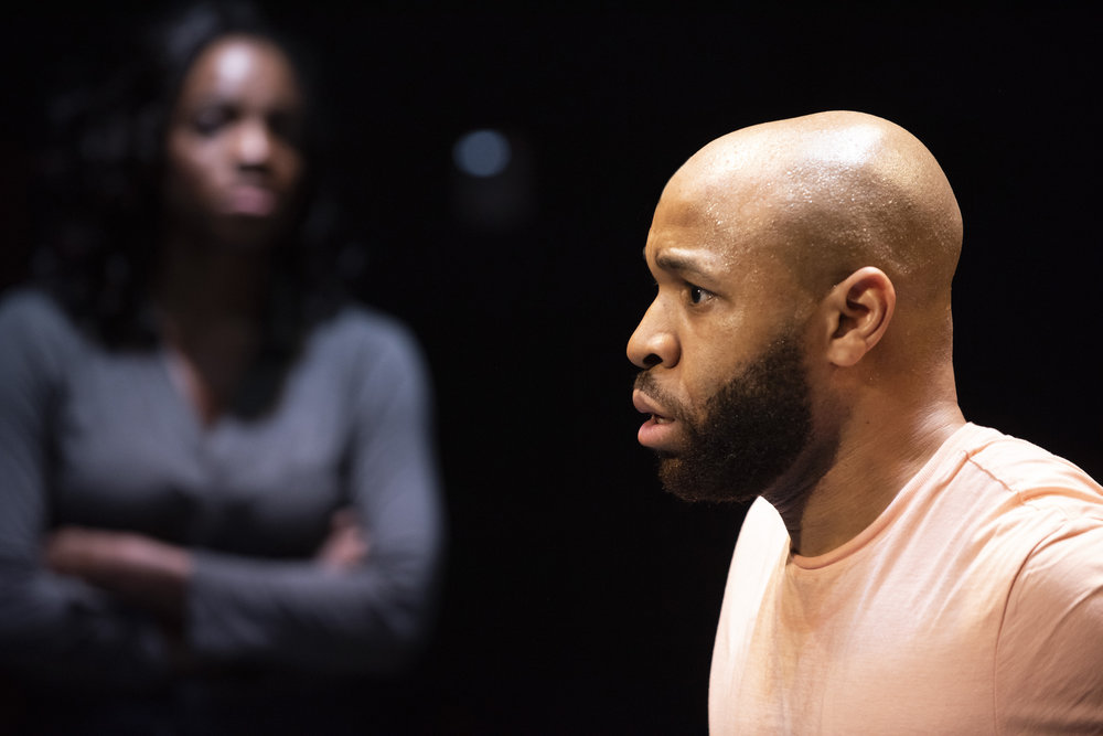Rachel Christopher and Ugo Chukwu in WHAT TO SEND UP WHEN IT GOES DOWN. Photo by Ahron R. Foster.jpg