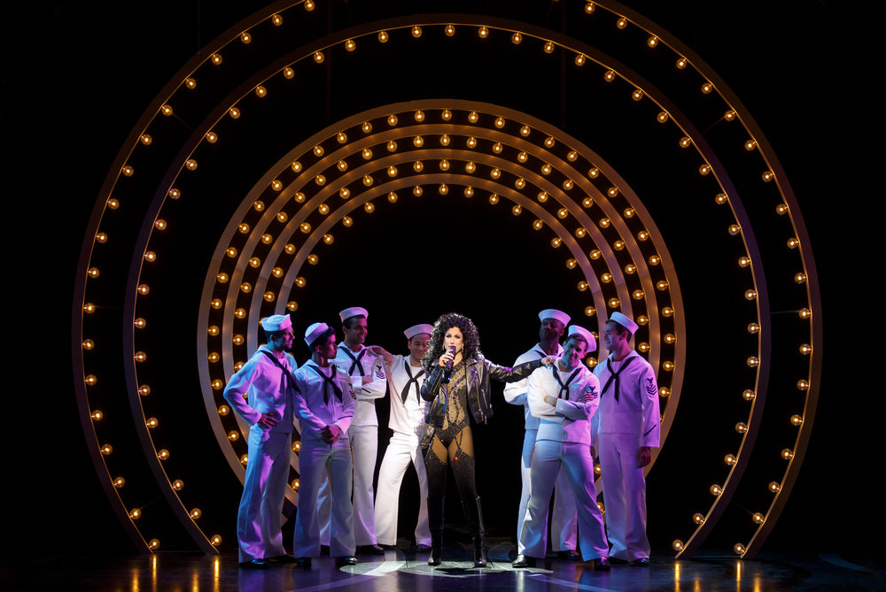 Stephanie J. Block as Star and the cast of THE CHER SHOW on Broadway - photo by Joan Marcus - 758r.jpg