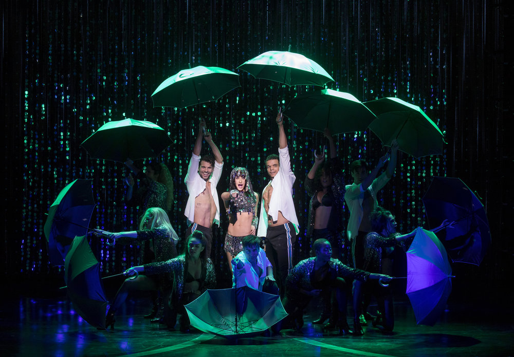 Micaela Diamond as Babe and the cast of THE CHER SHOW on Broadway - photo by Joan Marcus - 1064r3.jpg